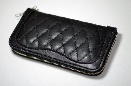Round Zip Wallet Diamond